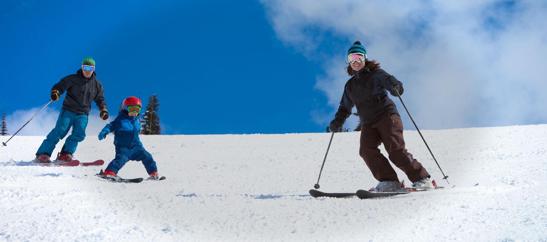 location ski usage
